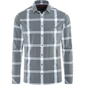 Mammut Mountain Longsleeve Shirt Herren storm-soft white-surf
